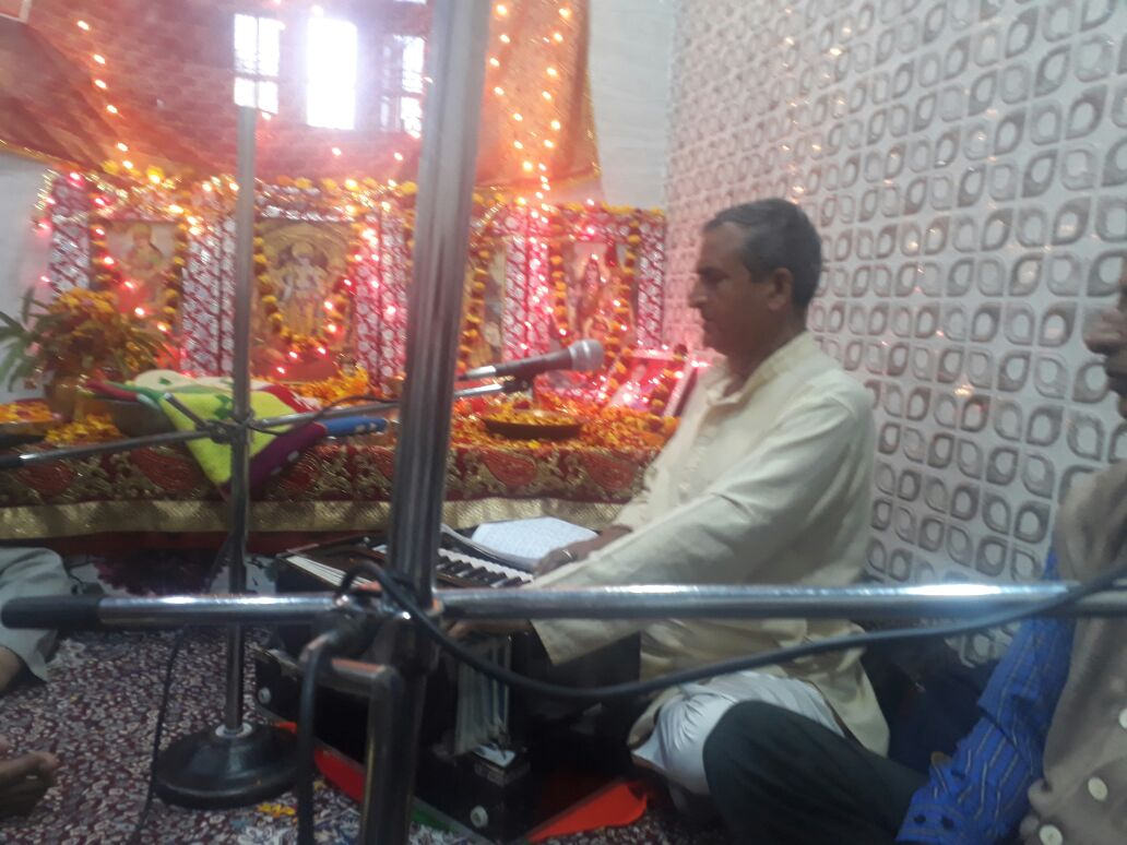 Shree Hari Kirtan Satsang was held in Jammu Today