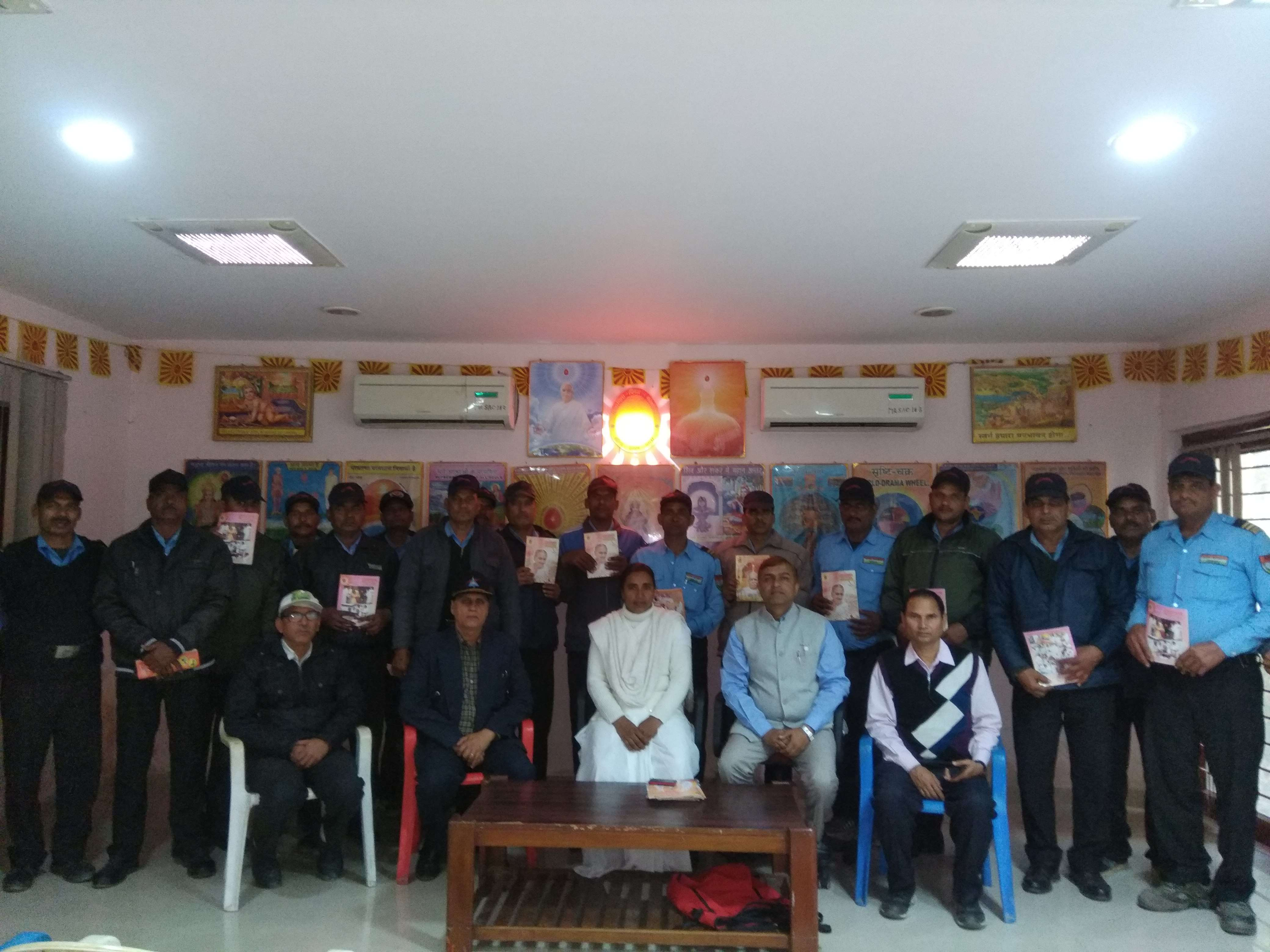Safety Workshop by Brahma Kumaris at Indian Oil Refinery