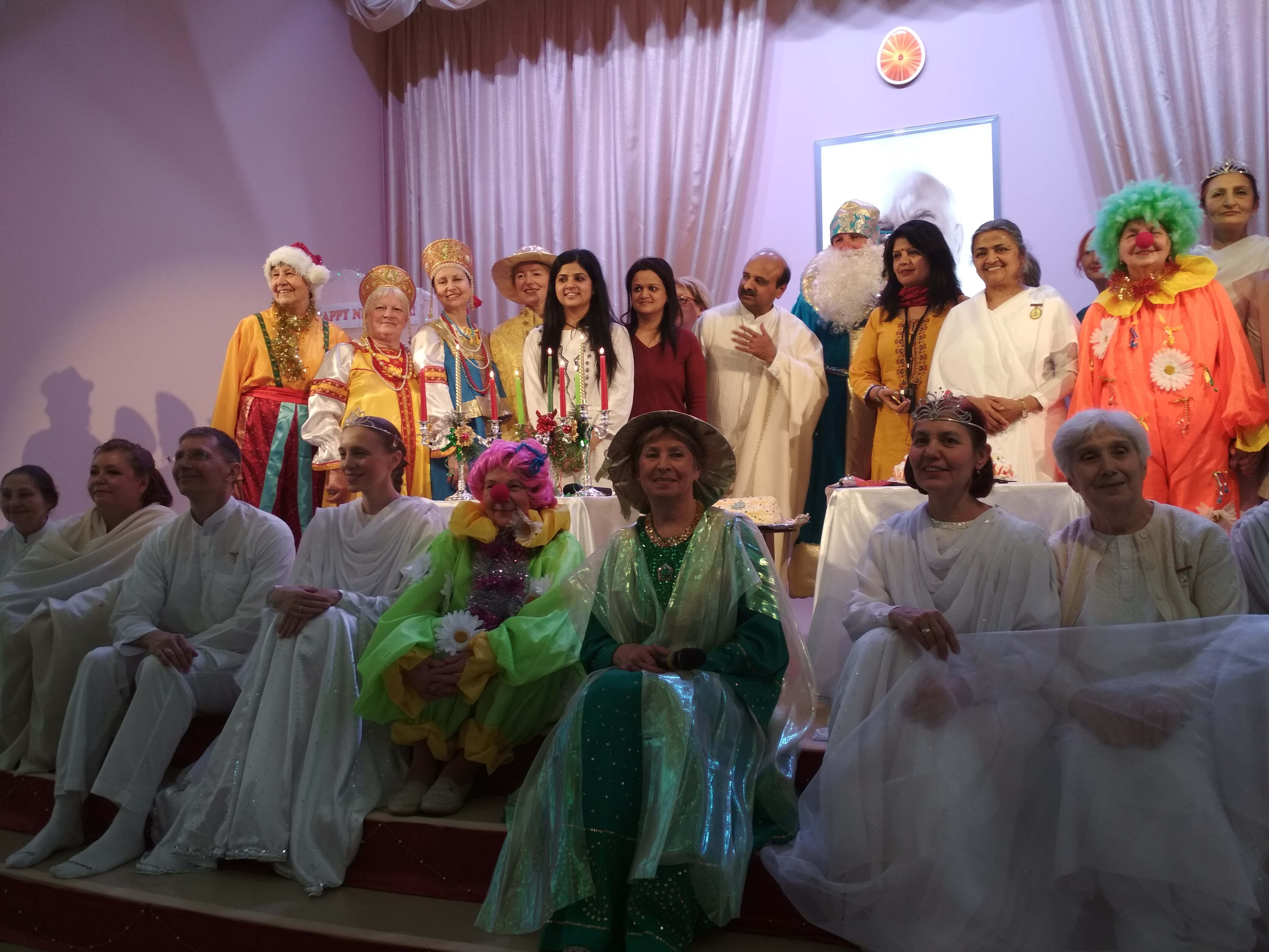 Brahma Kumaris Russia Celebrate 'Old New Year'