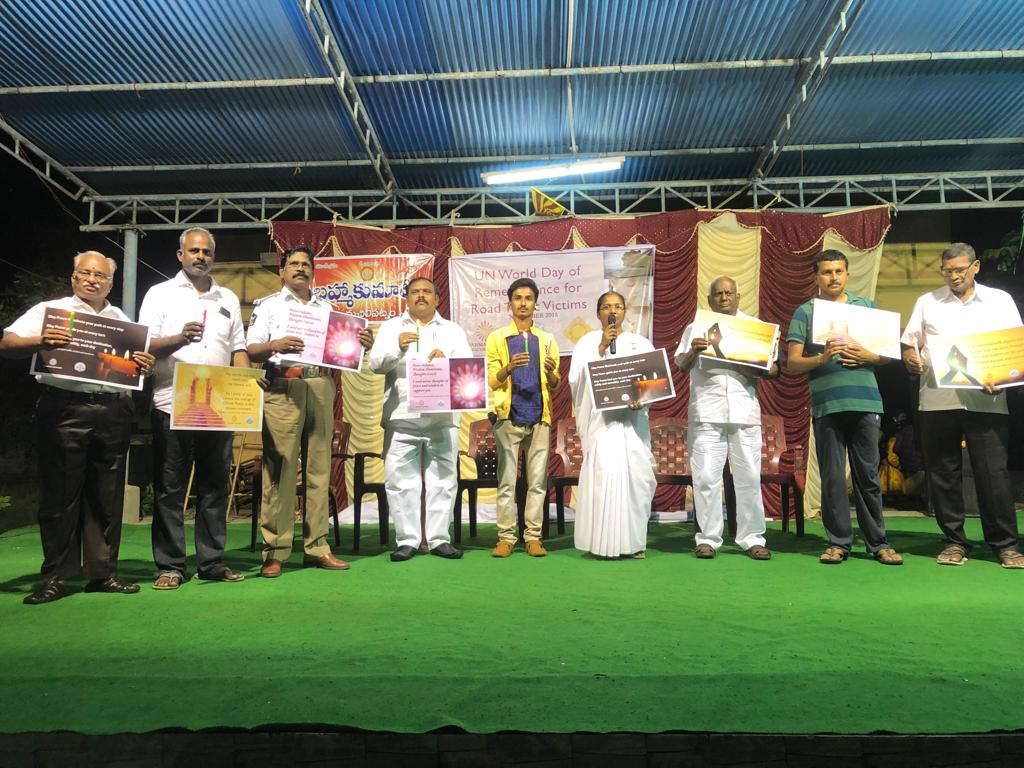Brahma Kumaris Conduct Mass Stage Program on World Remembrance Day