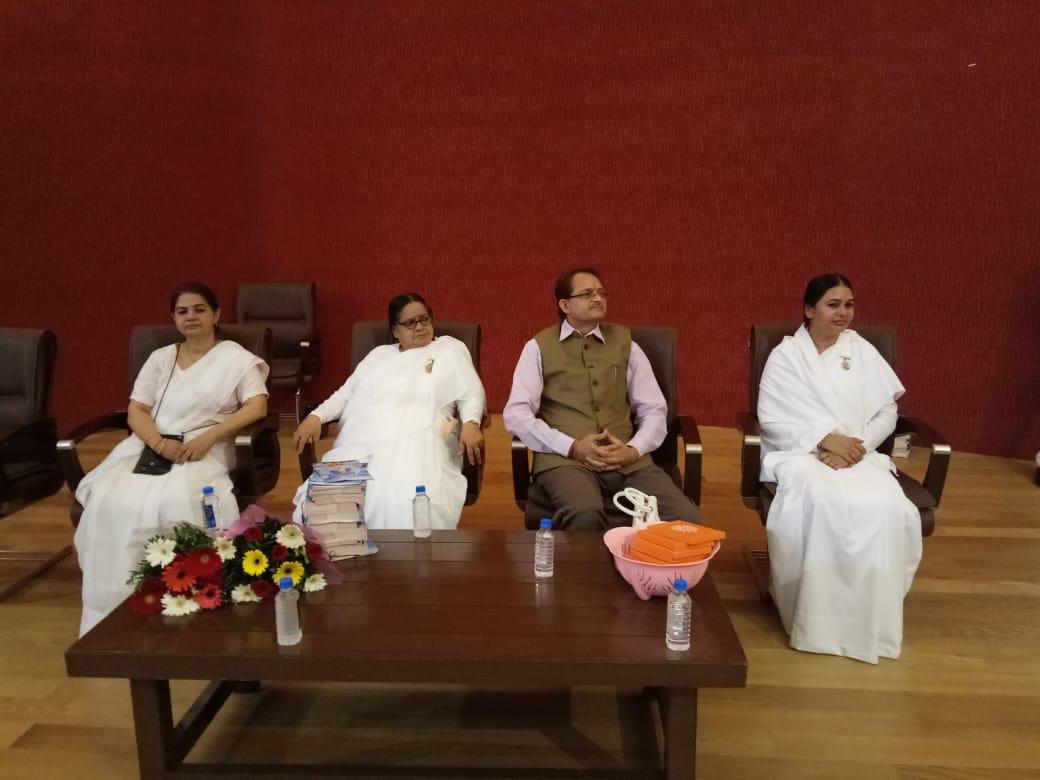 Brahma Kumaris from Bhopal at Legislative Assembly, Madhya Pradesh