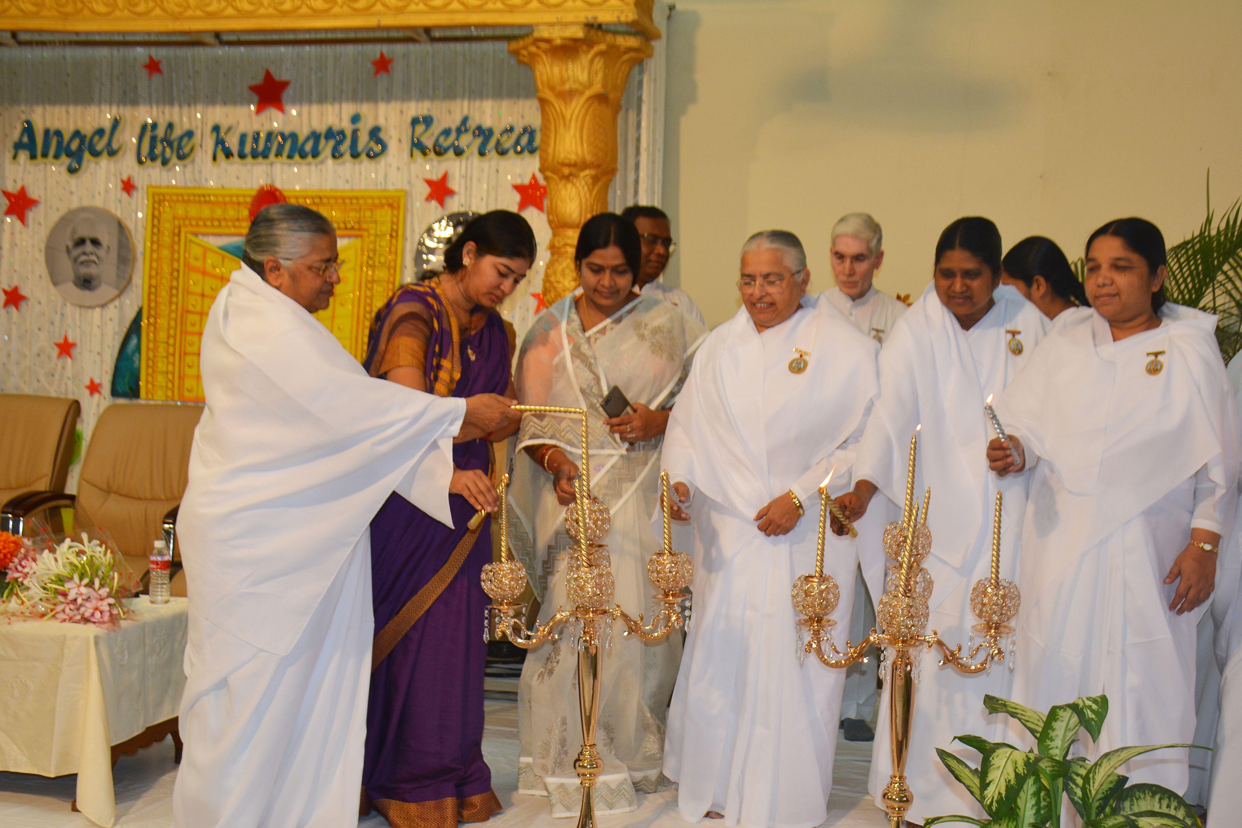 Angel Life Kumaris Retreat at Shanti Sarovar, Hyderabad
