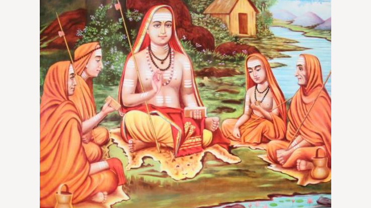 SHANKARACHARYA  JAYANTI  IS  CELEBRETED TODAY