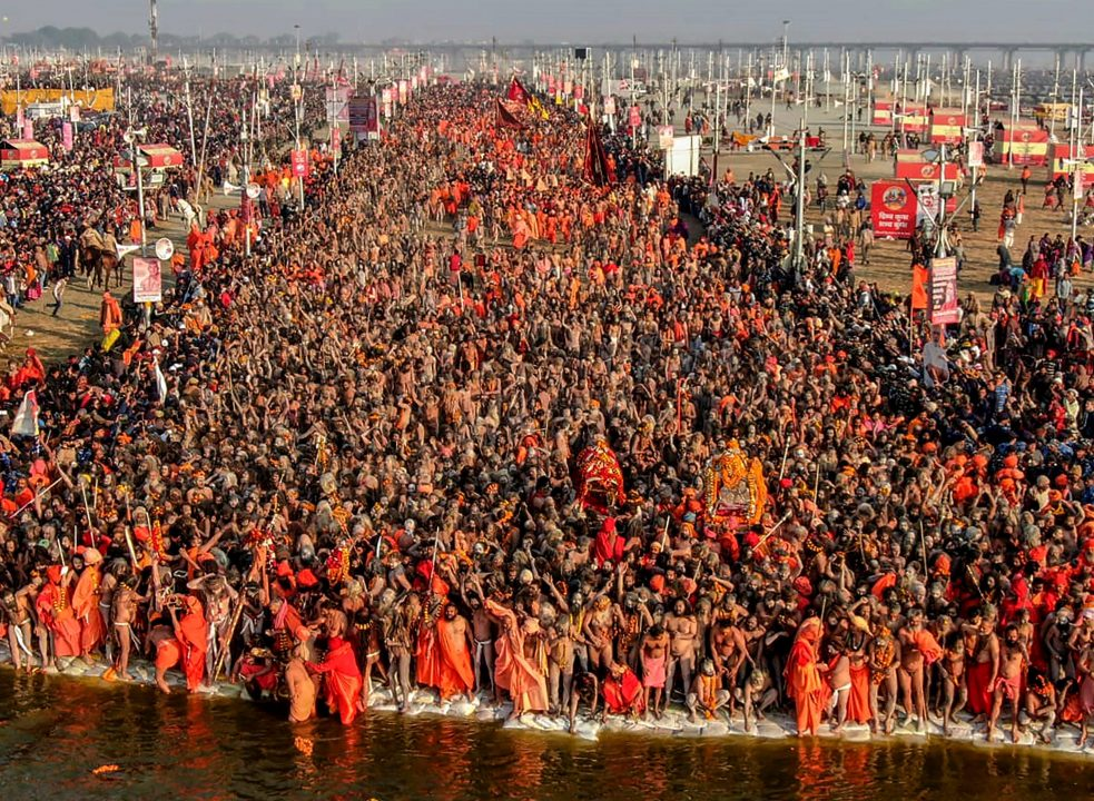 Last Shahi Snan of Akharas concludes yesterday at Prayagraj Kumbh