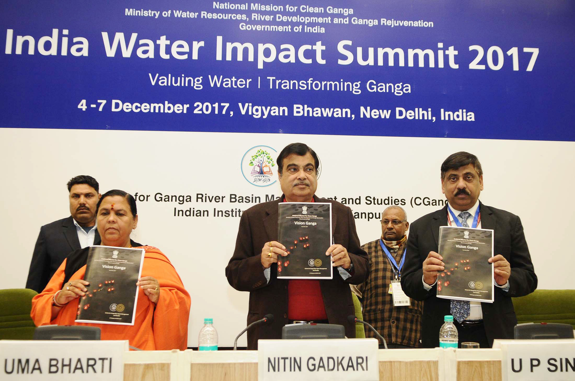 Union Ministers of India release Vision Ganga today