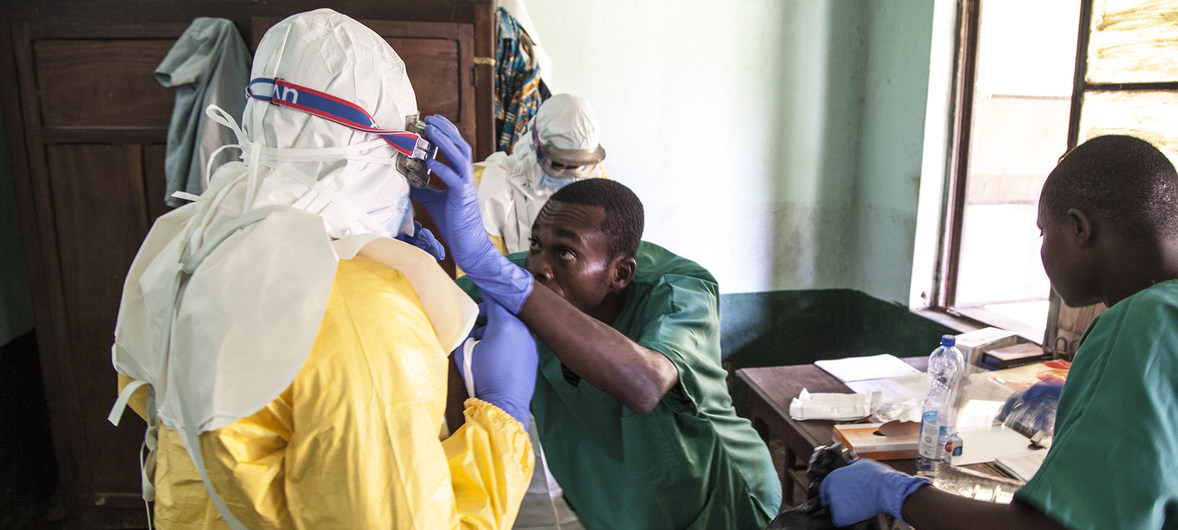 Ebola outbreak puts DR Congo on an 'epidemiological knife-edge'