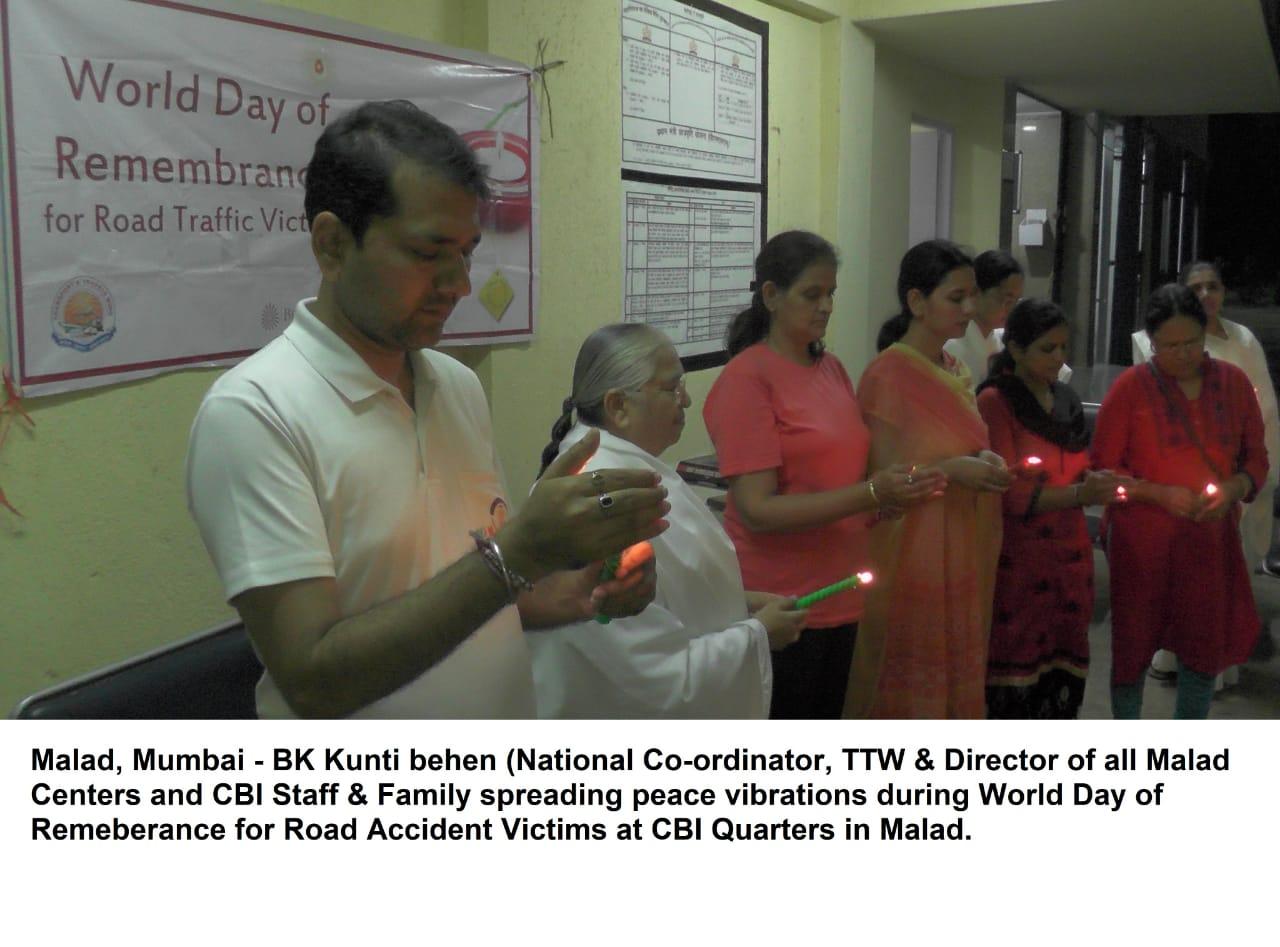 """Brahma Kumaris Conduct """"Inner Peace, Inner Power"""" Session for CBI"""