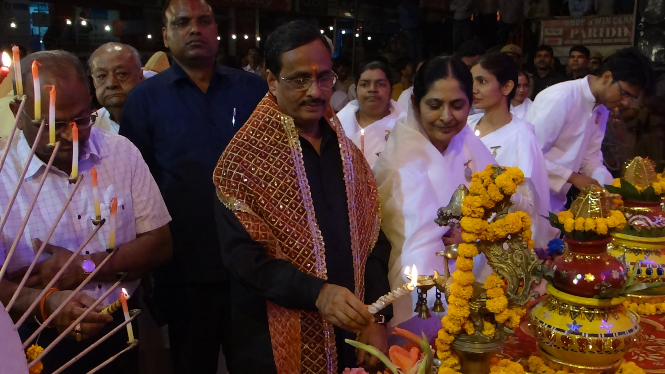 Deputy Chief Minister and Ministers of Uttar Pradesh Praise Brahma Kumaris in Lucknow