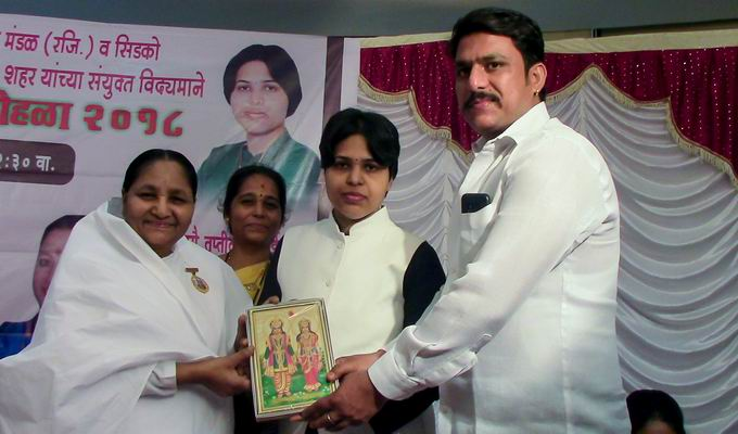 Honouring of women at Ulwe, Navi Mumbai