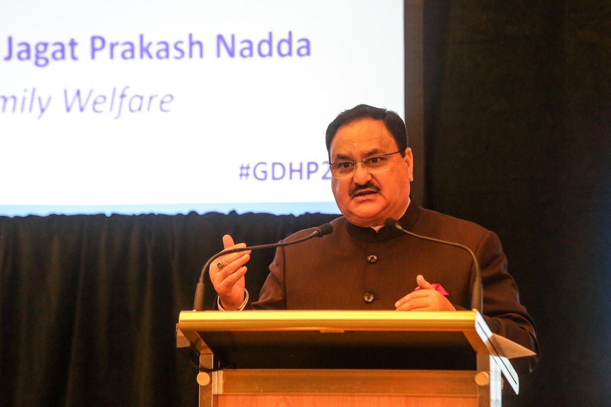 Shri J P Nadda gives away Kayakalp awards to felicitate  Public Health Facilities