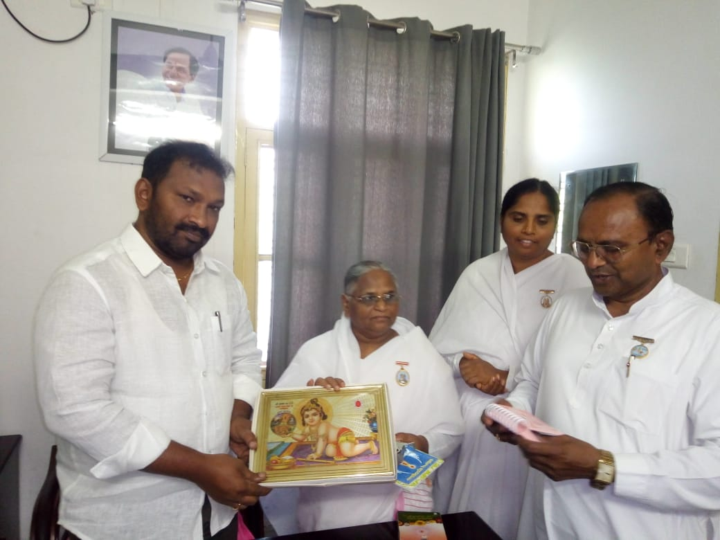Brahma Kumaris Meet Deputy Chief Minister of Telangana