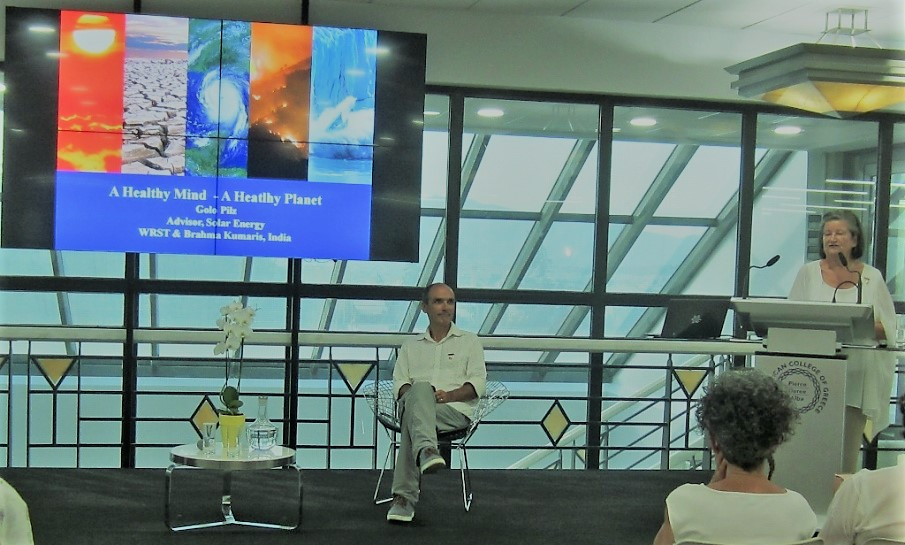 """""""A Healthy Mind, A Healthy Planet"""" Event At Deree, The American College of Greece"""
