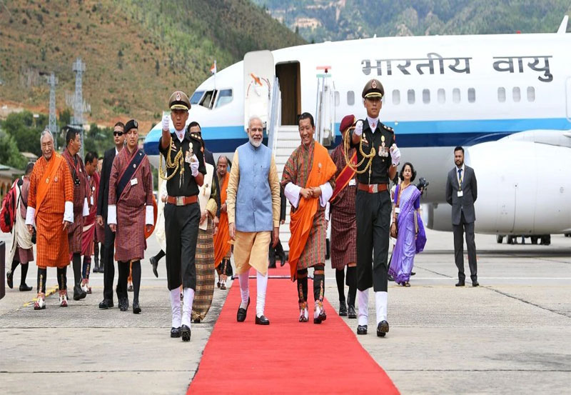 PM's recent visit to Bhutan