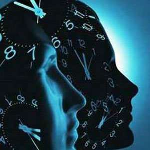 To predict the future, the brain uses two clocks