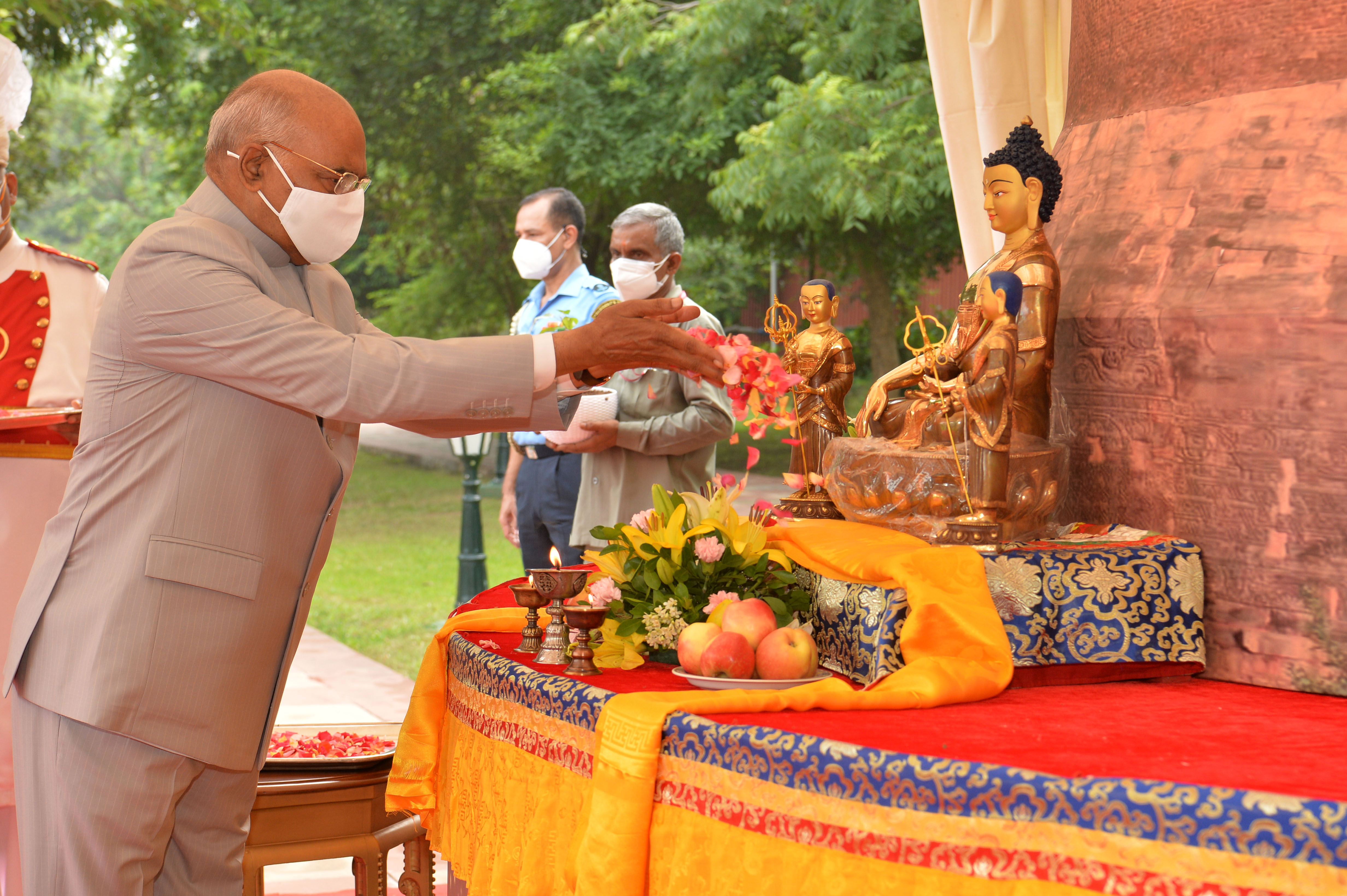 Application of Buddhist Values and Principles important for peaceful world order, President Kovind