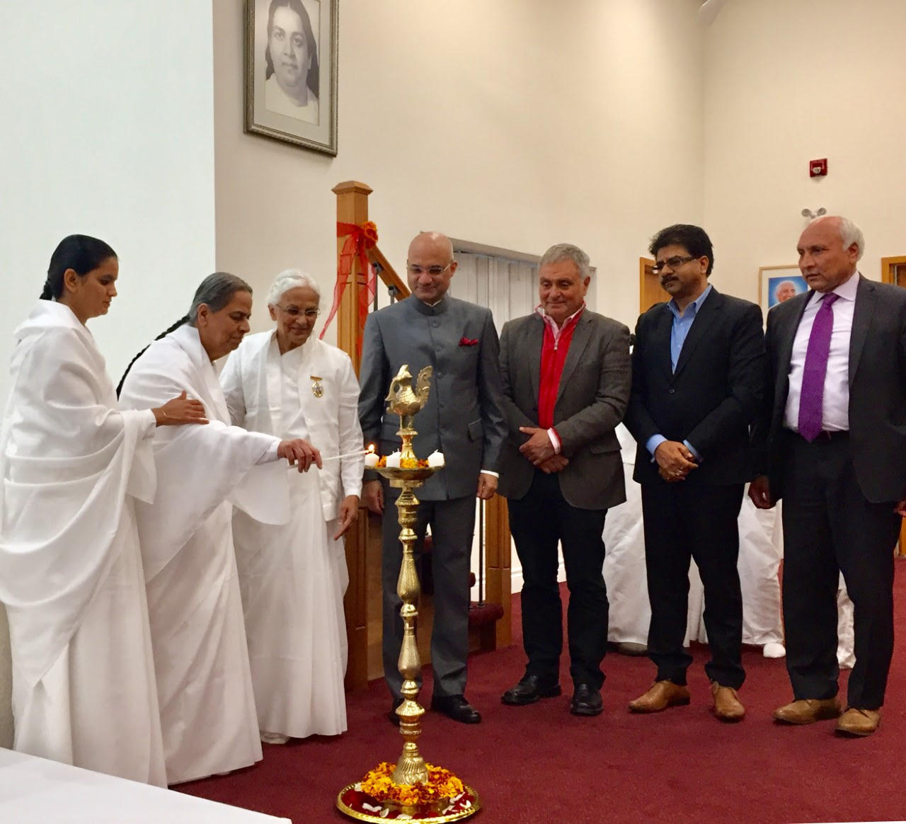Consul General of India, Toronto at the Inauguration of BK Center