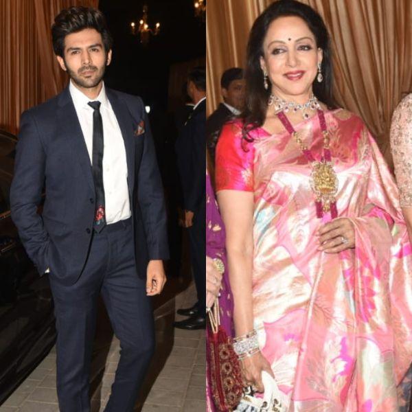 Isha Ambani - Anand Piramal wedding reception LIVE Updates: Kartik Aaryan and Hema Malini arrive