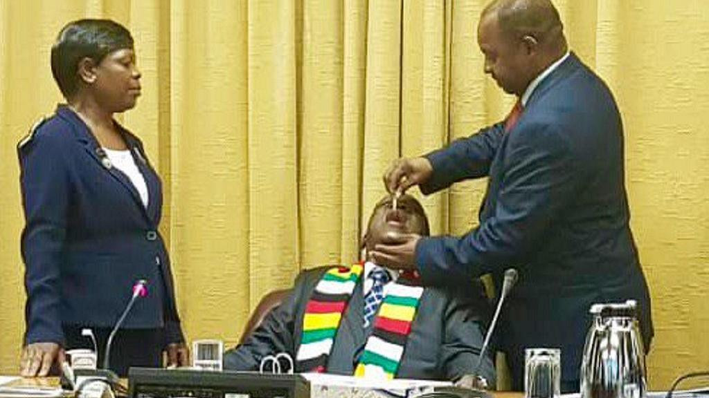 Zimbabweans ask Mnangagwa to 'vaccinate' economy, not cholera