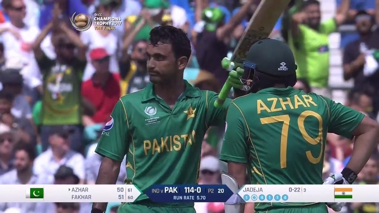 'I tried to score runs my way'- Fakhar Zaman