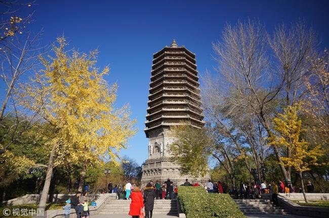 Beijing PM2.5 density drops
