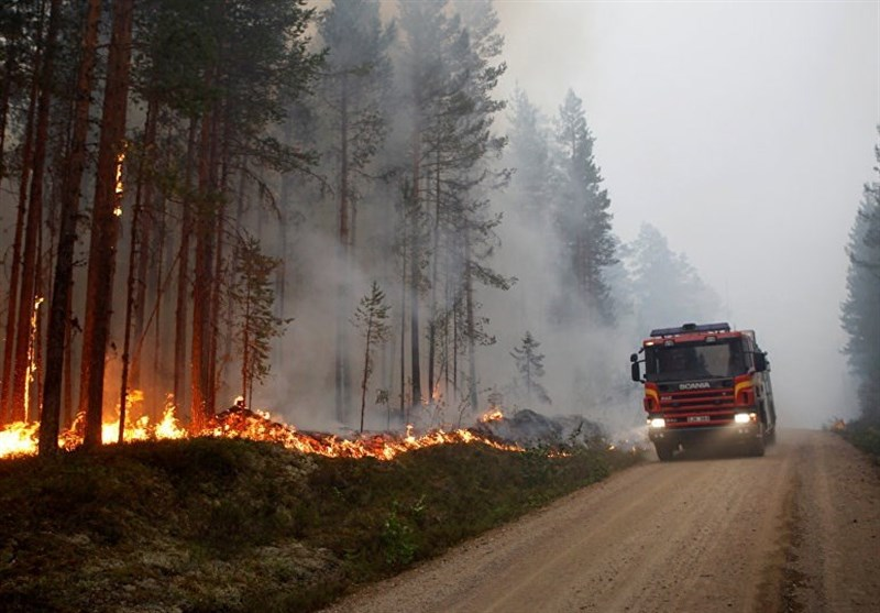 EU coordinates further assistance to help Sweden fight forest fires