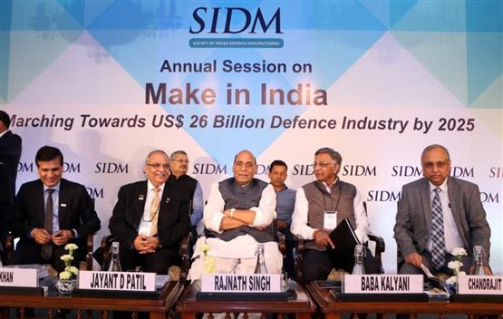 India to achieve USD 26 Billion Defence Industry by 2025: Raksha Mantri