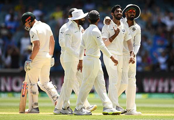 India close in as Bumrah ends Shaun Marsh's fight
