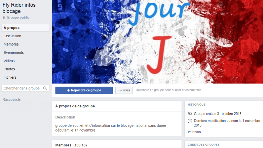How Facebook spurred the 'yellow vest' protests
