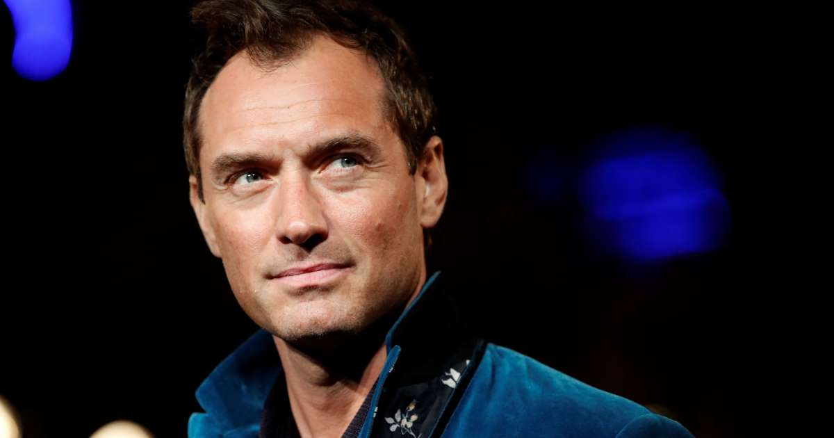 JUDE LAW SAYS THE 'WORLD IS READY' FOR A GAY CHILDREN'S ICON