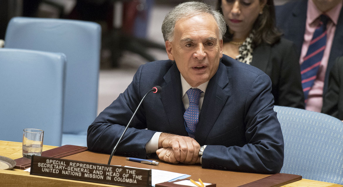 UN Mission chief calls Colombia's congressional elections 'a clear step forward' in peace process