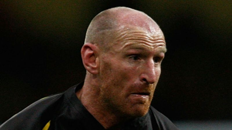 GARETH THOMAS ATTACKED BY TEENAGER IN CARDIFF IN AN ALLEGED HOMOPHOBIC ATTACK