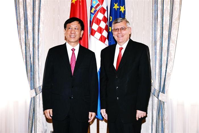China, Croatia to enhance ties through B&R Initiative