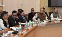 The Union Minister of Finance and Corporate Affairs Shri Arun Jaitley holds his 3rd Pre-Budget Consultation Meeting with representatives of Indian Trade and Industry in Delhi today
