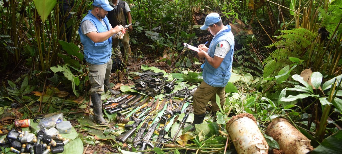 Colombia: New Congress marks rebel group's transition 'from weapons to politics', says UN