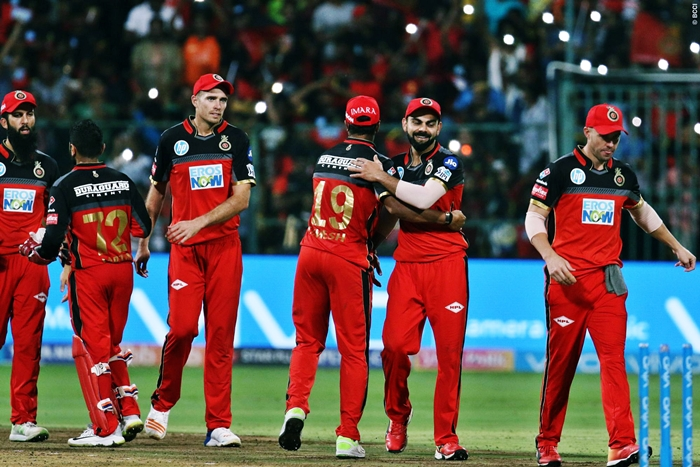 Hopes alive for RCB after a miraculous win over SRH