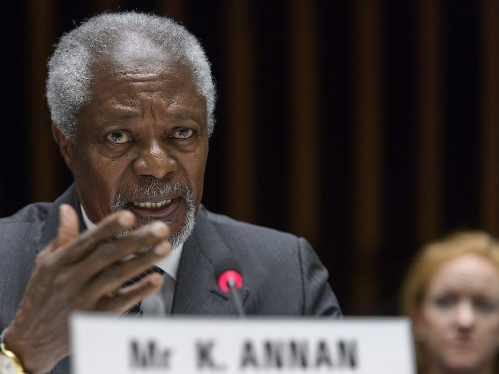 Statement by Commission President Jean-Claude Juncker on the passing away of former UN Secretary General and Nobel Peace Prize winner Kofi Annan