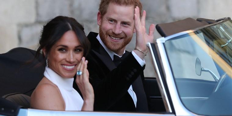 Royals thank those who celebrated wedding