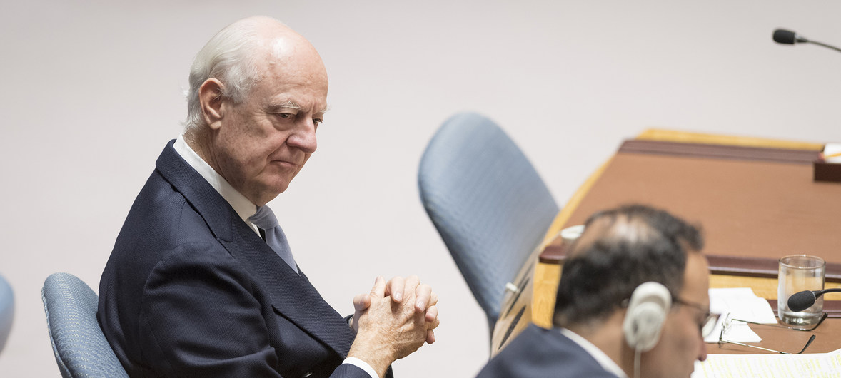 Veteran UN Syria Envoy to step down, pledges to work 'until the last hour' for peace