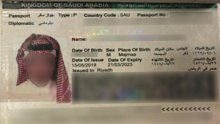 Passport scans show Saudis accused by Turkey of killing writer Khashoggi