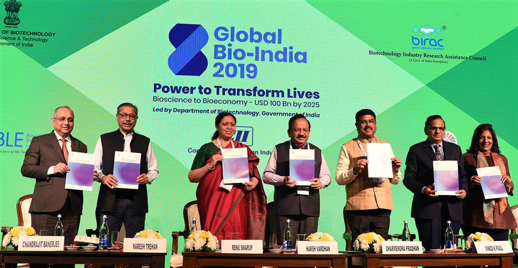 India has potential to emerge world leader in Biotechnology, says Dr. Harsh Vardhan