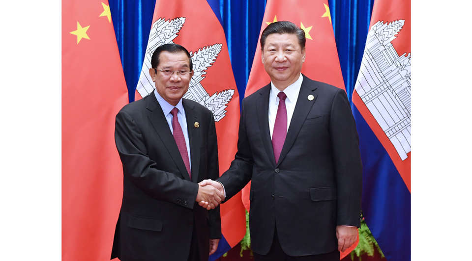 Chinese leaders send congratulatory messages to Cambodia's Hun Sen on election victory