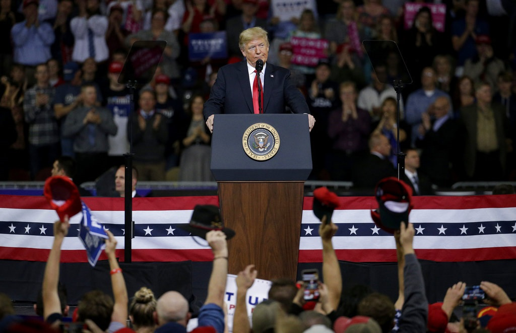 Pres. Trump Campaign: More Than 100K Tickets Requested For Texas Rally