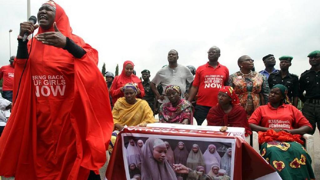 4th anniversary of Chibok abduction, Buhari assures of return of 112 girls
