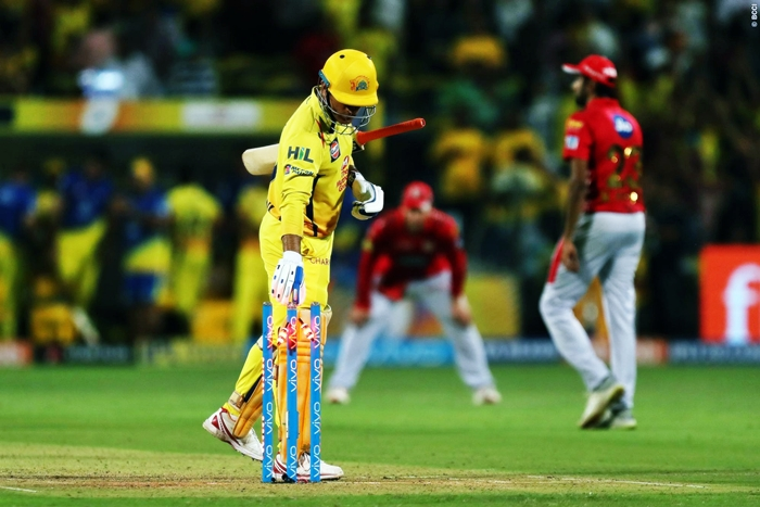 CSK thrash KXIP's playoff hopes, RR qualifies for eliminator