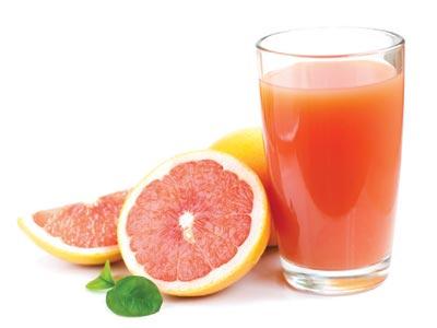 Skin cancer risk linked with grapefruit and orange juice