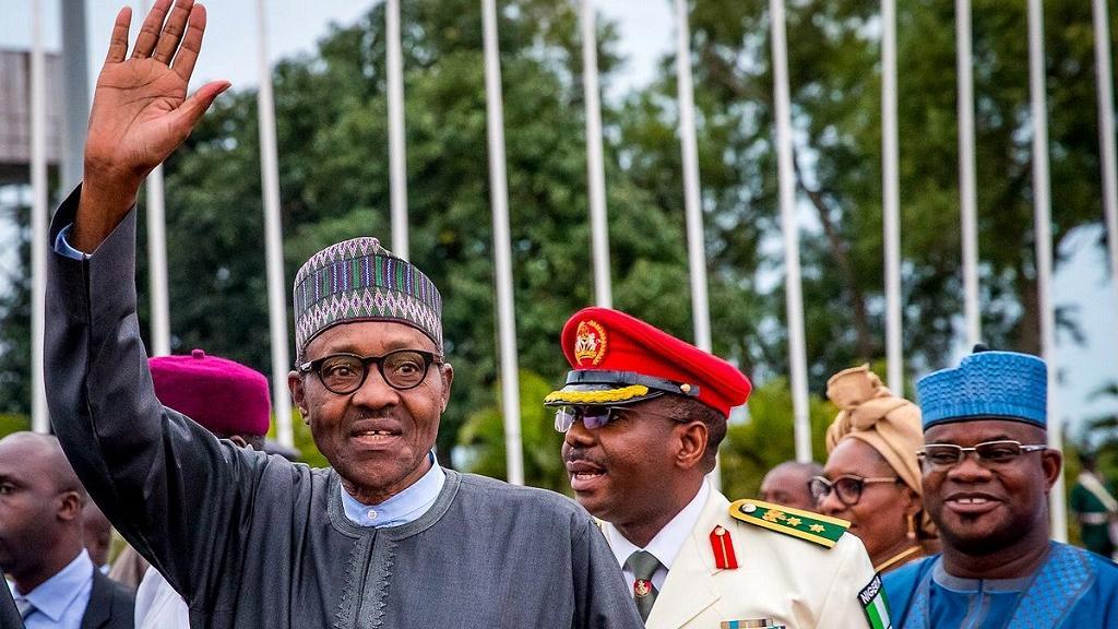 Buhari returns from U.K. vacation, promises to jail treasury looters