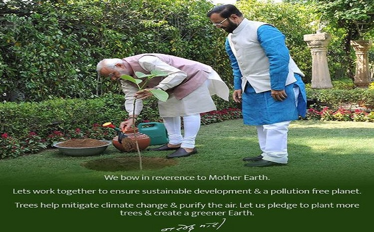 On EarthDay, PM reaffirms commitment towards creating a better planet