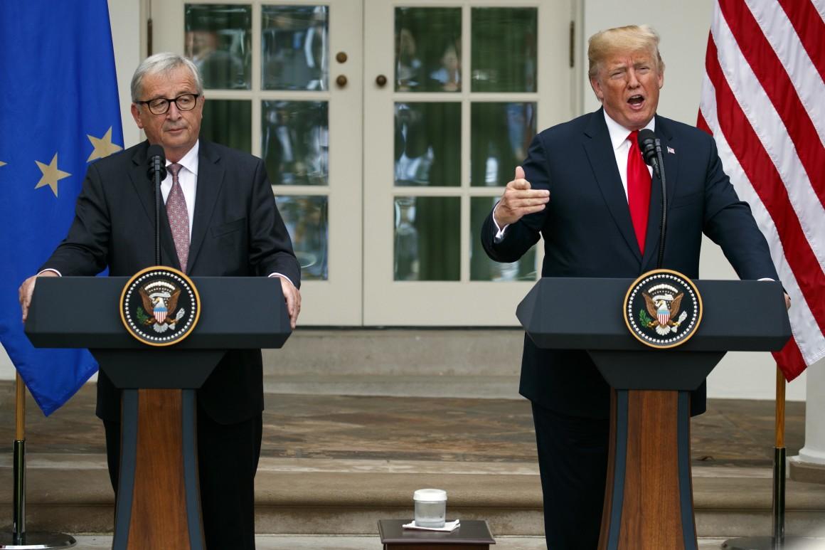 President Trump Considers EU Auto Tariffs