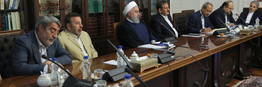 President at a meeting for managing market fluctuations
