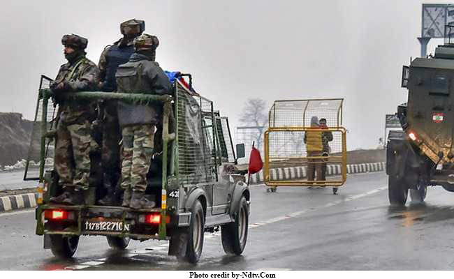Army Major among four soldiers martyred in overnight encounter with terrorists in Pulwama in South Kashmir